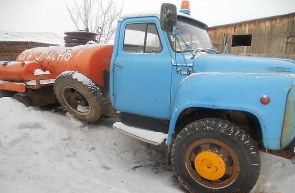 заправщик ГАЗ-52